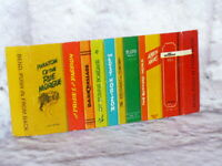 Mattel Barbie Doll Vintage 1962 Dream House Replacement BOOKS for Bookcase Shelf