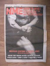 NME 1982 Sep 19: Body building feature, African Music, Siouxsie, Lemmy.