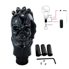 Skull Head Handle Gear Shift Knob Car Manual Transmission Shifter Stick Black