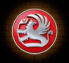 VAUXHALL badge sign LED Luce Scatola Man Grotta Garage Officina SALA GIOCHI REGALO PER RAGAZZI