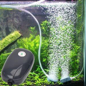 Silent EU Plug COC High Energy Efficient 3W Aquarium Oxygen Fish Air Pump /