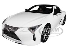 LEXUS LC500 METALLIC WHITE 1/18 MODEL CAR BY AUTOART 78846
