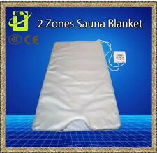 INFRARED SAUNA BLANKET 2 ZONE FIR FAR SLIMMING heating SPA Therapy WEIGHT LOSS
