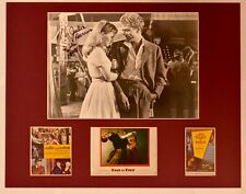 """""""East of Eden"""" Collage with Julie Harris Autograph (includes COA)"""