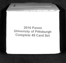 2016 Panini Collegiate_University of Pittsburgh Panthers_Complete 49 Card Set