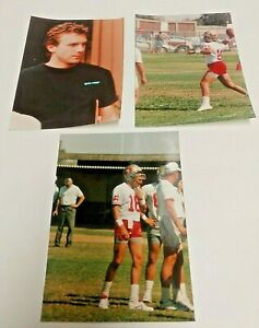 Joe Montana San Francisco 49'ers Football Practice Pictures 5x7
