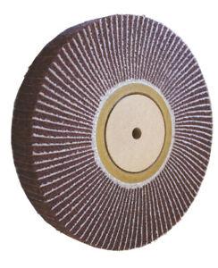 150mmx25mm Kombinierte Vlies/Leinen-Lamellenschleifscheibe,Korn240