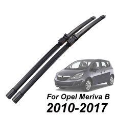 FÜR Opel Meriva B 2010-2017 SCHEIBENWISCHER WISCHERBLÄTTER SET VORNE 13 14 15 16
