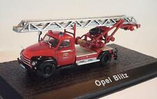 Atlas Feuerwehr Collection 1/72  Opel Blitz FFW in Plexi Box #2028