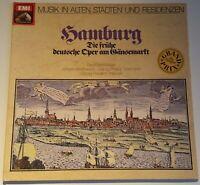 Musik in alten Städten Hamburg Telemann Händel Emi 037-45570