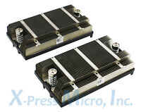 FHV0D **LOT OF 2** DELL POWEREDGE R820 CPU HEATSINK