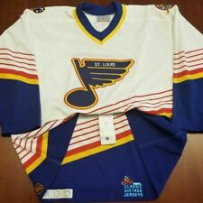 St Louis Blues Vintage CCM Authentic Jersey