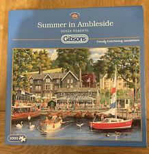 Summer in Ambleside Gibsons 1000 piece jigsaw puzzle by Derek Roberts.