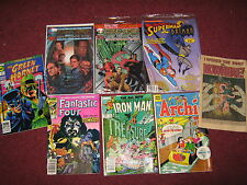 Lot of 42 Comic Books, Superman, Batman, Robin, DC Comics Early 90's