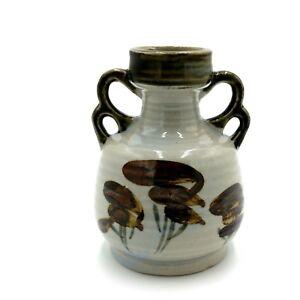 Retro Artflo Sake Bottle with handles Japan original sticker 260mls Vintage 1970