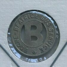 Boone Iowa IA Boone-Beatrice Bus Service Transportation Token