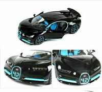 Bburago Bugatti Chiron 1/18 42 Second Diecast Model Toy Car Collection Vehicle