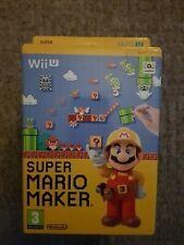 Nintendo Wii U Super Mario Maker