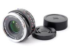 【Mint】Carl Zeiss C Biogon T* 35mm F2.8 ZM BLACK Lens For Leica M 383260