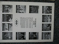 BIKES HUFFY ORIGINAL VINTAGE ORIGINAL ADS  8x11''  mint BUY ONE GET ONE FREE