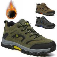 Herren Damen Turnschuhe Sneaker Winter Warm Trekking Outdoor Trail Wanderschuhe