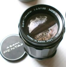 Ashahi Pentax Super Takumar 135mm f/3.5 Telephoto Lens Digital SLR / Mirrorless