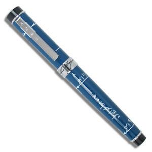 "Archived ACME Studio ""Blueprint"" FOUNTAIN Pen by Designer Constantin Boym NEW"