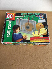 Vintage 1994 LEMON CLOCK Go Labs Science NEW in box electricity from fruit and v