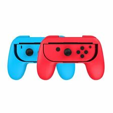 2 x Red and Blue Controller Grip Handles for Nintendo Switch Joy-Con UK SHIPPING
