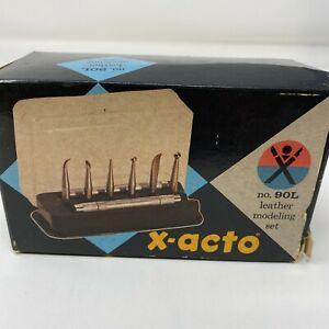 Exacto 90L Leather Modeling Kit NOS Made In USA