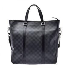 LOUIS VUITTON Tadao black N51192 Hand Bag 805000929258000
