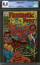Fantastic Four #110 CGC 8.5 (W)