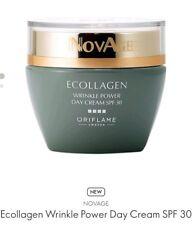 Oriflame Ecollagen Wrinkle Power Day Cream SPF 30, 50ml New RRP29.00