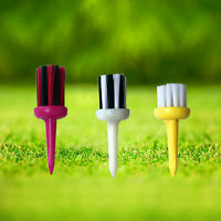 "Brush-t Golf Tees Driver - 1 Pack of 3 Brush Tees - 2.04"" 2.24"" 2.44"" Height US"