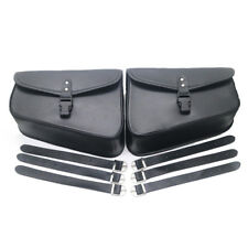 Motorcycle Saddlebags PU Leather Pouch Bag For Harley Sportster XL 883 1200