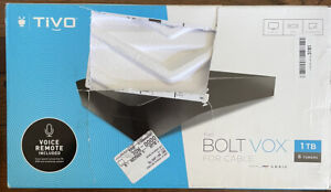 TiVo BOLT VOX for cable 1TB 4K 6 Tuners DVR and Streaming - NO SUBSCRITION
