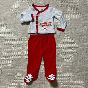 NFL Baby Kansas City Chiefs Baby Outfit 3 Months