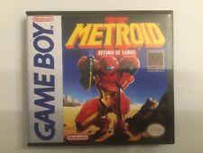 *NEW* Metroid II Return Of Samus - Game Boy GB Cases- *NO GAME*