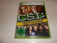 XBox 360  CSI: Crime Scene Investigation - Eindeutige Beweise