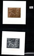 # GUYANA - MNH - GOLD+SILVER - IMPERF - OLYMPIC