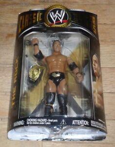 2008 WWF WWE Jakks The Rock Dwayne Johnson Classic Wrestling Figure Series 19 IC