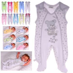 Strampler Baby 44 50 56 62 68 74 Einteiler Babykleidung