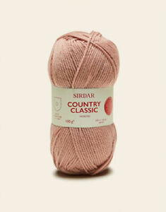 Sirdar Country Classic Worsted 100g OUR PRICE: £4.85