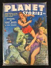 1943 FICTION HOUSE MAGAZINE *PLANET STORIES VOL 2 #2* PULP/SCIENCE FICTION