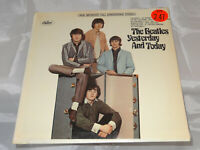 Beatles Yesterday And Today Sealed Vinyl Record LP USA 1966 w/ Rainbow RIAA 4