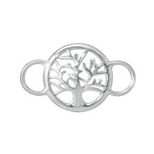 Tree of Life Connector Pendant 29x17mm Sterling Silver Pack of 1 (B91/1)