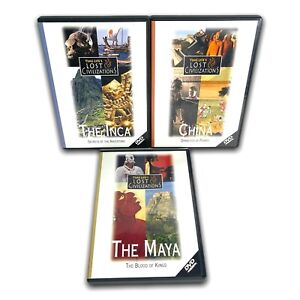 Time Life Lost Civilizations 3 x DVD Documentary Set: The Maya, The Inca, China