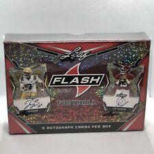 2020 Leaf Flash Football Hobby Box 5 Auto Per Box Joe Burrow & Tua Tagovailor