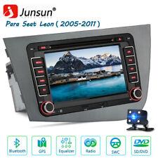 "JUNSUN 2 Din 7"" Radio GPS de coche para Seat Leon 2 MK2 2005-2011 de DVD/CD"