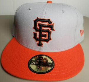 MLB San Francisco Giants MADE USA New Era 59FIFTY Fitted Hat Cap WOOL BLEND